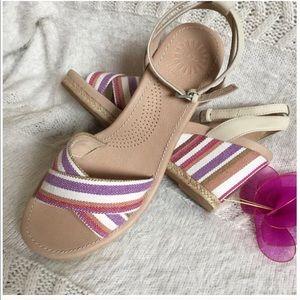 New UGG Purple Sandals size 8